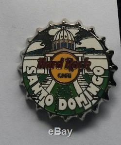 Hard Rock Cafe SANTO DOMINGO Bottle Cap Series pin RARE
