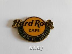 Hard Rock Cafe SHARM EL SHEIKH Round City Logo Magnet (no bottle opener)