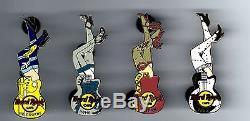 Hard Rock Cafe STILLETO EUROPE SERIES Pin Set. Total 24 Pins. RARE
