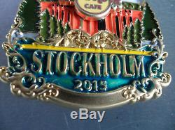 Hard Rock Cafe STOCKHOLM City Icon Original V15 Version Series Pin on Card