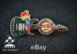 Hard Rock Cafe San Jose Costa Rica Guitar & Parrot Grand Opening Staff Pin 2013