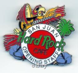 Hard Rock Cafe San Juan OPENING STAFF Parrot Playing Guitar