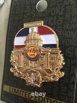 Hard Rock Cafe Santo Domingo Rockshop Grand Opening Staff VIP Pin LE100 Icon