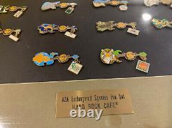 Hard Rock Café Save The Planet Pin Set Endangered Species AZA Rare (14 Of 50)