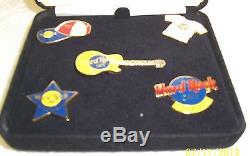 Hard Rock Cafe Stockholm Opening Day Pin Set 1997 Limited Edition Of 300