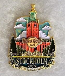 Hard Rock Cafe Stockholm Original Limited Edition Icon City Series Pin # 85247