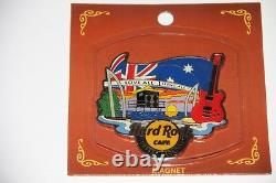 Hard Rock Cafe Surfers Paradise ALTERNATIVE MAGNET mint new on card
