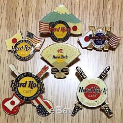 Hard Rock Cafe TOKYO 7th-12th Anniversary Pin 1990-1995