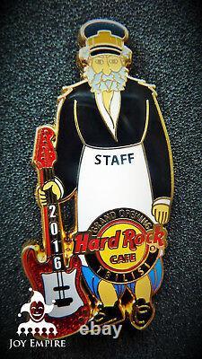 Hard Rock Cafe Tbilisi Georgia The Janitor Grand Opening Staff Pin 2016