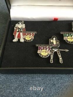 Hard Rock Cafe Tokyo KISS 2006 23rd Anniversary Pin Box Set