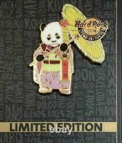 Hard Rock Cafe UENO JAPAN Panda Kimono Limited Pin Xiang Xiang 3rd birthday