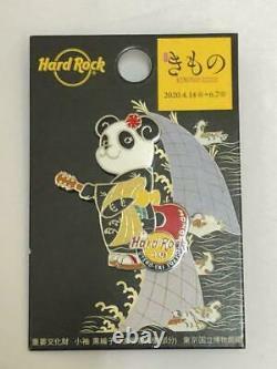 Hard Rock Cafe UENO JAPAN Panda Limited Pin Xiang Xiang Kimono Tokyo museum