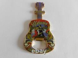 Hard Rock Cafe USHUAIA Tango Dancers Guitar with Logo Magnet Bottle Opener