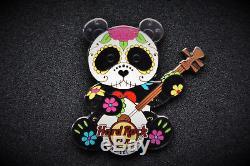 Hard Rock Cafe Uyeno-Eki Tokyo Japan Sugar Skull Panda Pin 2014 LE100