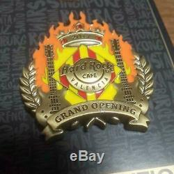 Hard Rock Cafe Valencia Pins Freeshipping Grand Opening. Limited edition. Japan