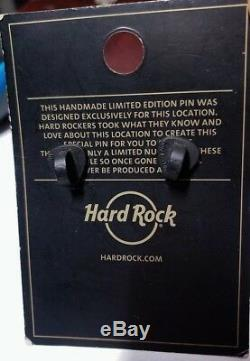 Hard Rock Cafe Vientiane Grand Opening Staff Pin Mint Condition