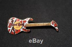 Hard Rock Cafe Vintage No Name Eddie Van Halen Guitar Rare Banana Stock