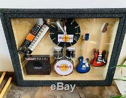 Hard Rock Cafe Wall Clock Art Piece (Working)