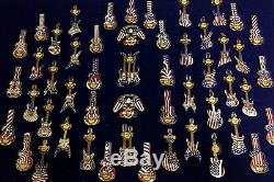 Hard Rock Cafe guitar pin USA AMERICA pin collection hardrock cafe