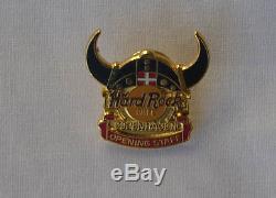 Hard Rock Cafe pin COPENHAGEN opening staff Viking LE