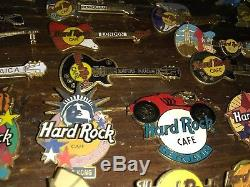 Hard Rock Cafe pin Lot Set Collection of 45 pins from all around the world