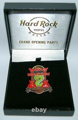 Hard Rock Hotel DALIAN 2020 Grand Opening Party Box Pin