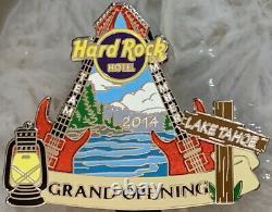 Hard Rock Hotel LAKE TAHOE 2014 GRAND OPENING PIN Team Member STAFF Silver 88240