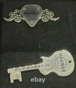 Hard Rock Hotel San Diego, CA Condo Owner Exclusive Staff Only 2 Pin Set LE
