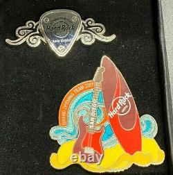 Hard Rock Hotel San Diego Grand Opening Team Staff Only 2 Pin Set LE /600