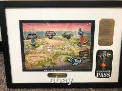 Hard Rock Park Myrtle Beach pin ROCK N ROLL theme, limited withbackstage pass