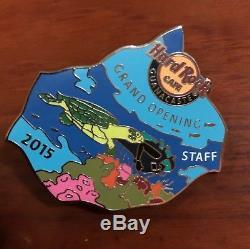 Hard rock cafe Guanacaste Grand opening staff pin(rare silver metal version)