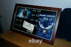 Hard rock cafe HRC Imagine Dragons 11 Pins and Display Set 2015 UK Tour Ltd Edtn
