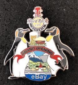 Hard rock cafe Ushuaia Grand opening staff pin