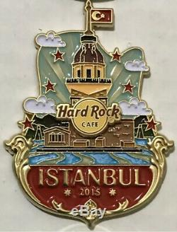 Hard rock cafe istanbul City Icon pin