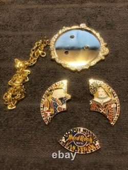 Hardrock Jackpot Winner Necklace Pinback /Extremely rare Hardrock Casino LV