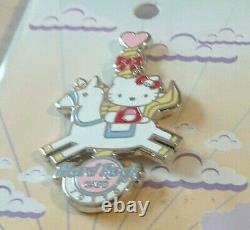 Hello Kitty Universal Studio Japan PIN & Hard Rock Cafe Carnival PINS from Japan