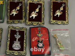 Huge Lot 37 NOS Hard Rock Cafe Foxwoods Pins Guitars, Sexy Girls, Motorcycles++