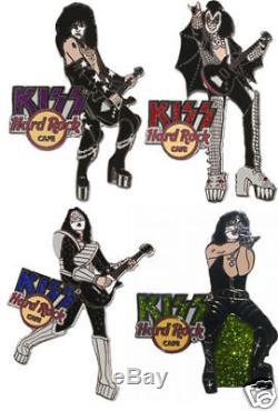 KISS Hard Rock Cafe Pin Group DREAM LE 100 2006 Set
