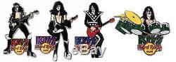KISS Hard Rock Cafe Pin Group Stun Set LE 100 2006