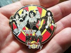 Kiss Group Vol. #10 Japan Chain & Comic'05 Pin set of 8 Hard Rock Cafe LE 500