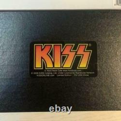 Kiss Hard Rock Cafe NARITA TOKYO Grand Opening Commemorative Pin Badge