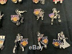 Kiss Hard Rock Cafe Pins Bulk Lot