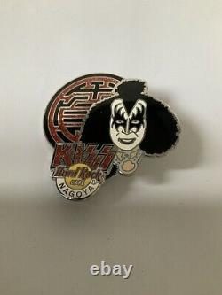 Kiss Hard Rock Cafe Tokyo Osaka Nagoya Crest Series Pin Set 2005 Ltd 750