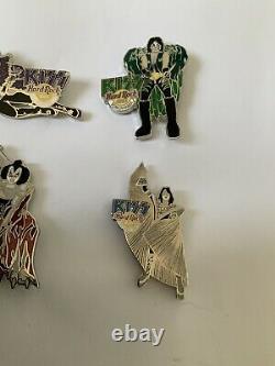 Kiss Hard Rock Cafe Tokyo Osaka Yokohama Dynasty Costume Pin Set