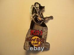 Kiss Live Series 2006 Hard Rock Cafe Pin Set Of 4 Pins Limited Edition 100 Rare