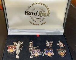 Kiss Nagoya Hard Rock Cafe Pin Box Set 9th Anniversary 2006 Vintage