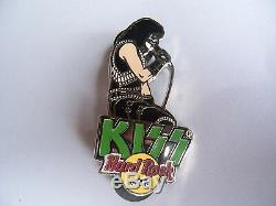 Kiss Stage Series 2005 Hard Rock Cafe Pin Set Of 4 Pins Limited Edition 200 Rare