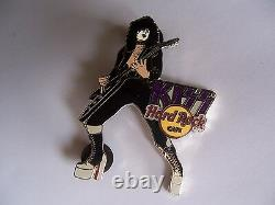 Kiss The Ruse Series 2006 Hard Rock Cafe Pin Set Of 4 Pins Limited Edition 100