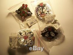 Kiss Vol. #10 Japan Chain 2005 Pin set of 4 Hard Rock Cafe Group Pins LE 500