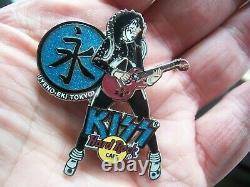 Kiss Vol. #5 Japan Fierce Series 2005 set of 4 Hard Rock Cafe Pins LE 750